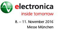 electronica 8. bis 11. 11. 2016